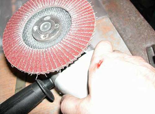 лепестковый диск для болгарки