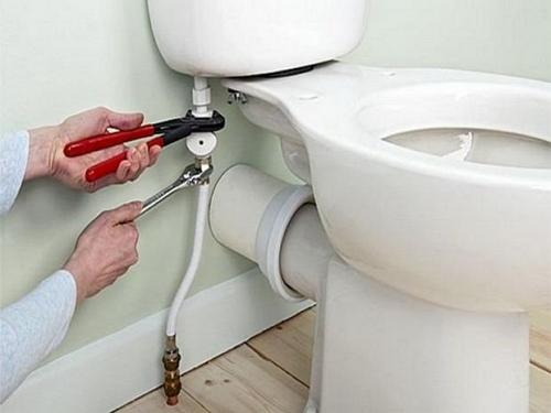 подключение унитаза к водопроводу фото