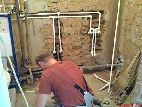 как сделать водопровод в