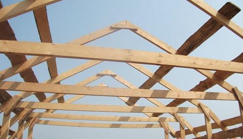 крыша для дома своими руками фото