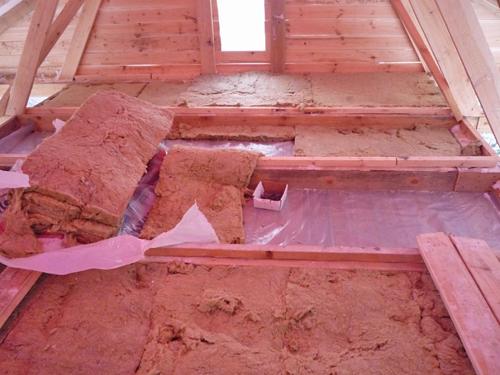 минеральная вата для утепления крыши фото
