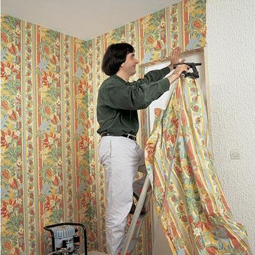 Стены из ткани своими руками фото