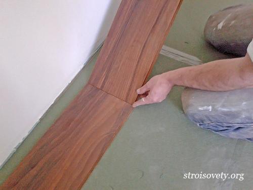 самостоятельная укладка ламината своими руками фото