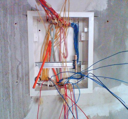 сборка электрощитка своими руками