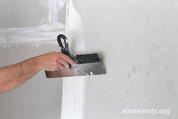 шпаклевка потолка своими руками фото