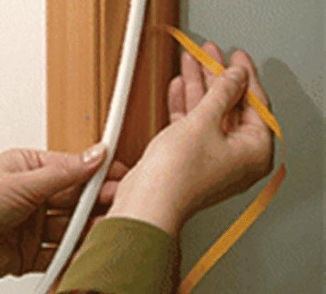 как поменять уплотнитель на двери фото