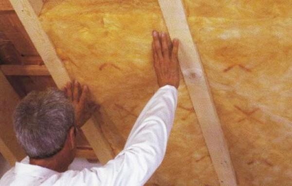 конструкция крыши монтаж утеплителя