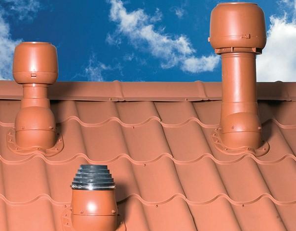 как устроена вентиляция крыши
