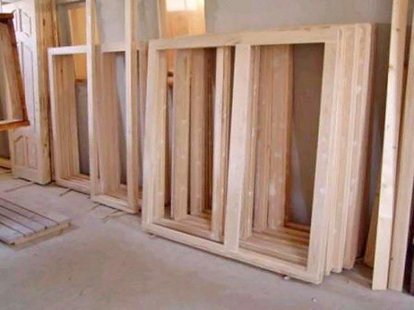 деревянные рамы для окон фото