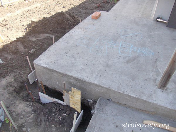 крыльцо из бетона фото