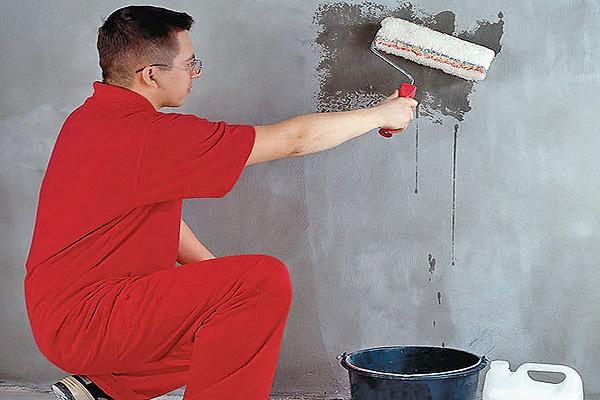 грунтовка стен перед монтажом панелей мдф фото