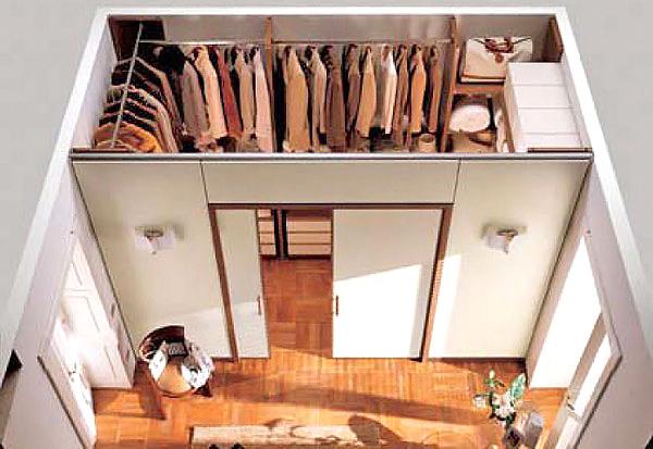 гардеробная комната своими