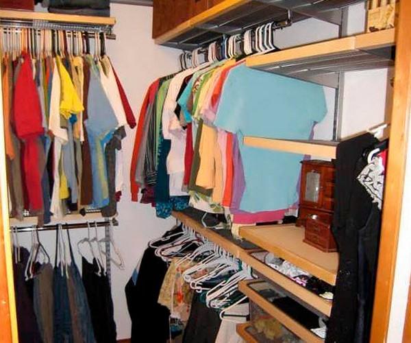 как сделать гардеробную в спальне своими руками