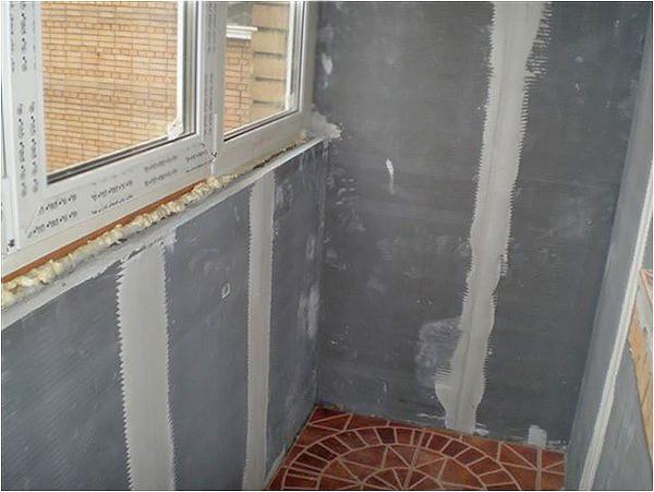 как утеплить пол на балконе фото