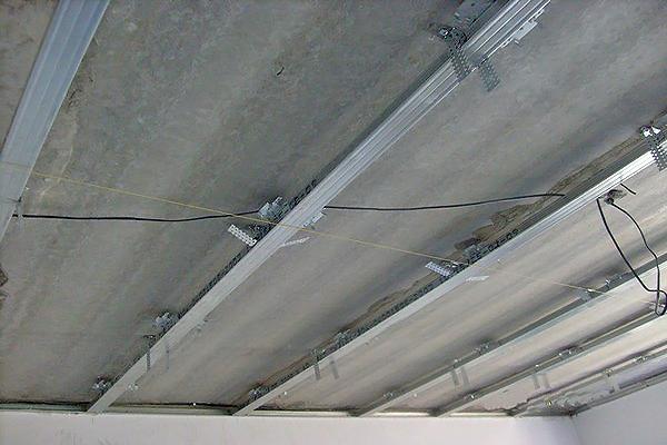 как сделать потолок с кессонами фото