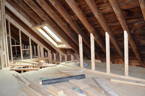 attic roof design ideas - Мансарда своими руками как утеплить и обустроить жилой