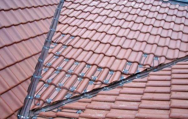 система антиобледенения крыши фото