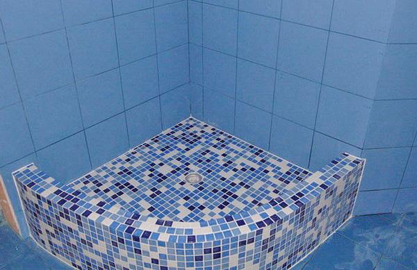 Мозаика в бассейне своими руками