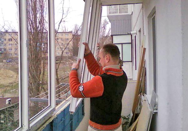 монтаж пластиковых окон своими руками фото