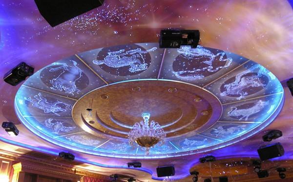 многоуровневый потолок звездное небо фото