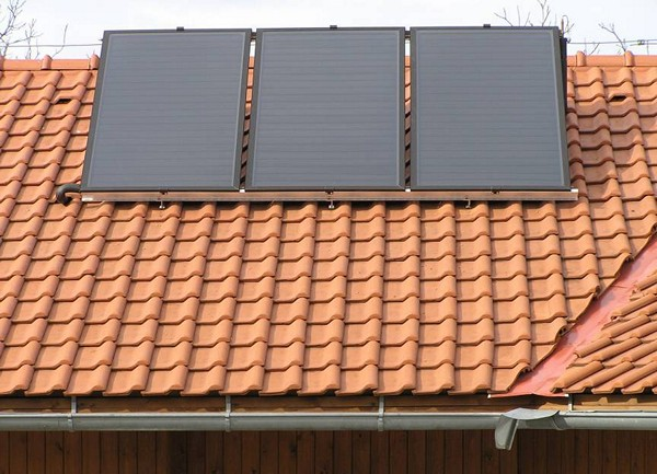 солнечные коллекторы для отопления фото