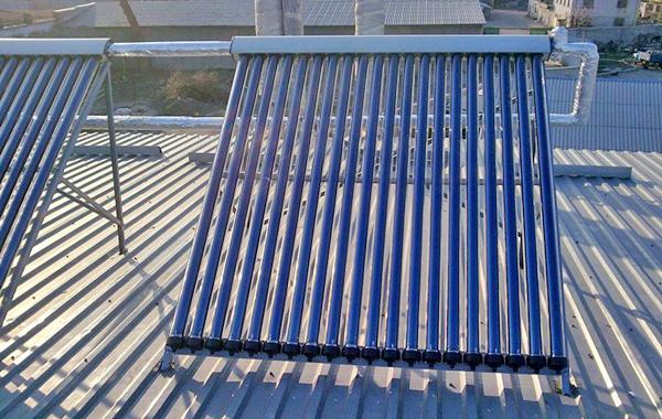 солнечный коллектор для нагрева воды фото