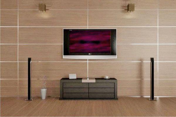 стеновые панели в гостиной фото