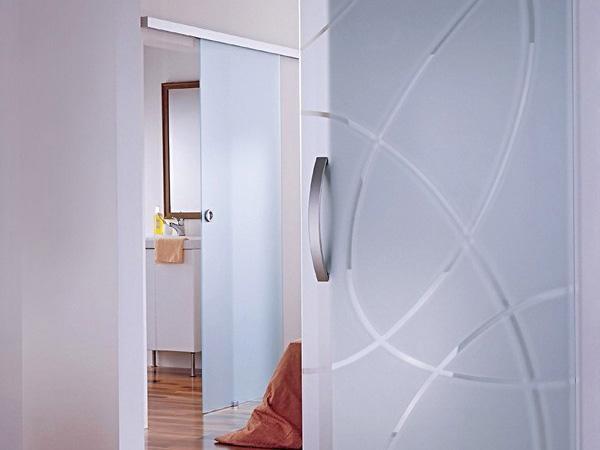 межкомнатные стеклянные двери фото