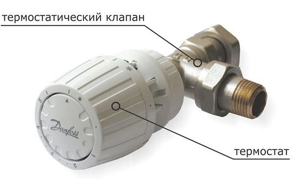 терморегулятор на радиатор отопления фото