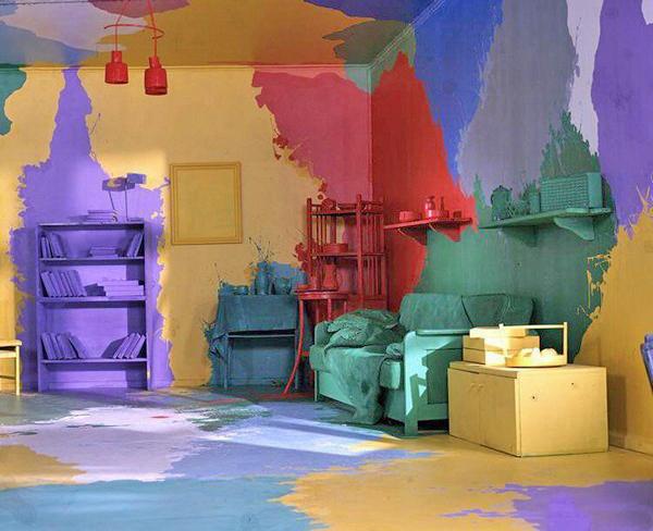 Водоэмульсионная краска своими руками фото