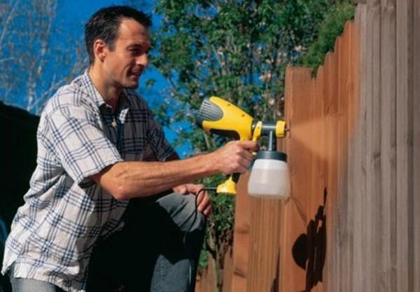 нюансы использования краскопульта для водоэмульсионной краски