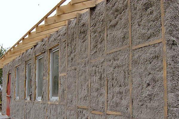 наружное утепление деревянного дома фото