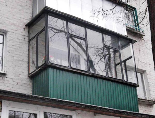 остекление балкона своими руками с помощью авторезины фото