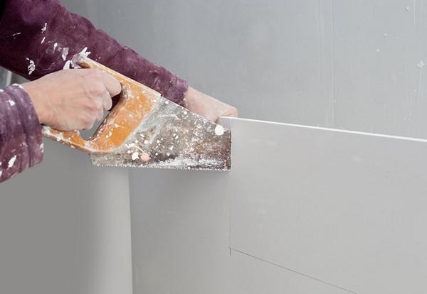 как резать стекломагниевый лист фото