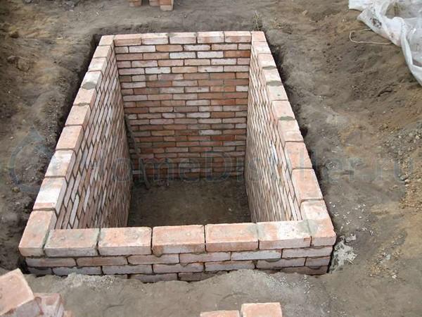 как построить своими руками подвал