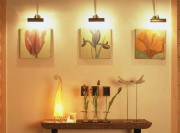 освещение дома фото
