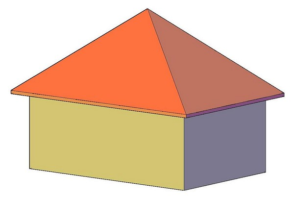 шатровая крыша фото