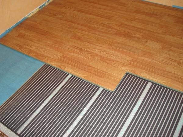 инфракрасный теплый пол фото