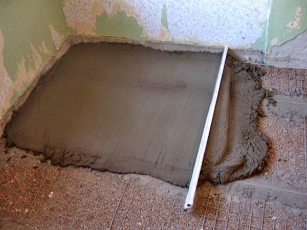 как выровнять старый деревянный пол стяжка