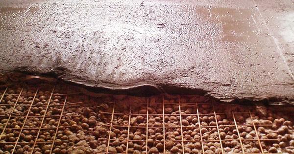 стяжка с подсыпкой для деревянного пола фото