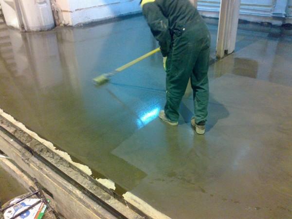 пропитка для бетона от пыли фото