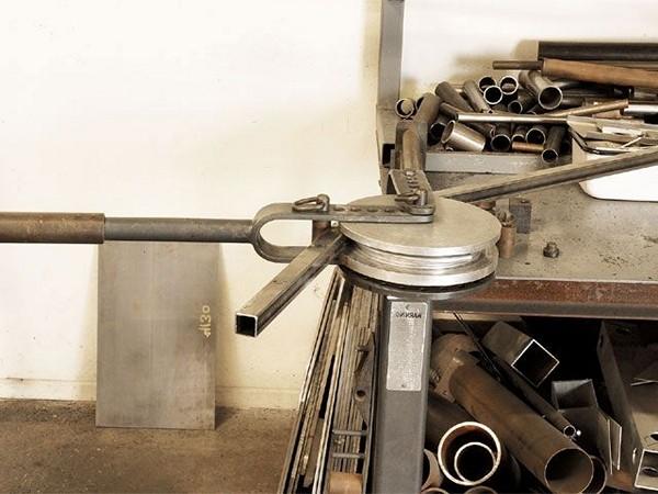 самодельный трубогиб для квадратной трубы фото