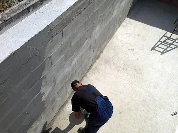 гидроизоляция стен снаружи фото