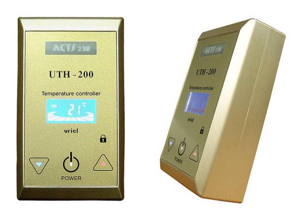 как настроить терморегулятор теплого пола
