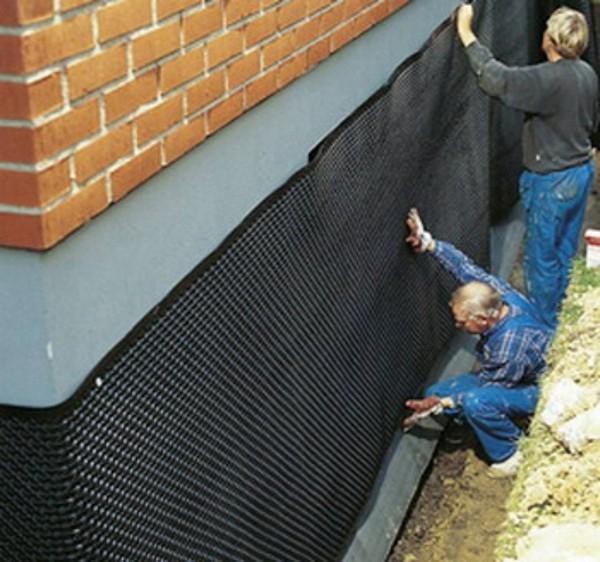 вертикальная гидроизоляция стен фото