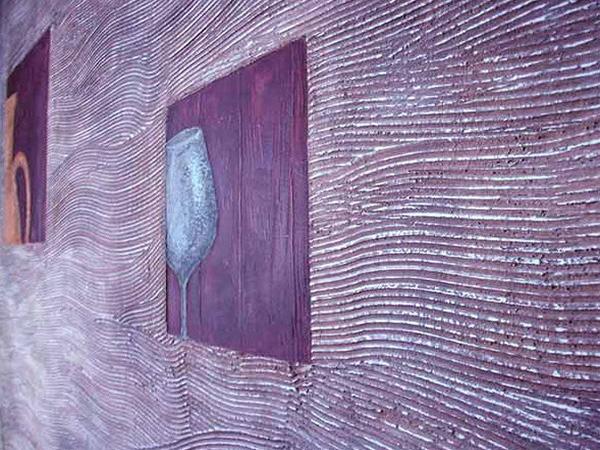 Стены декоративной штукатуркой своими руками