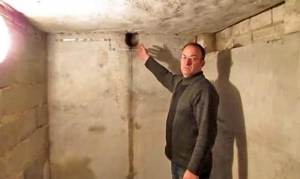 естественная вентиляция в подвале фото