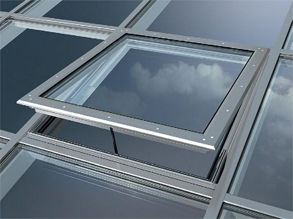 конструкция стеклянной крыши