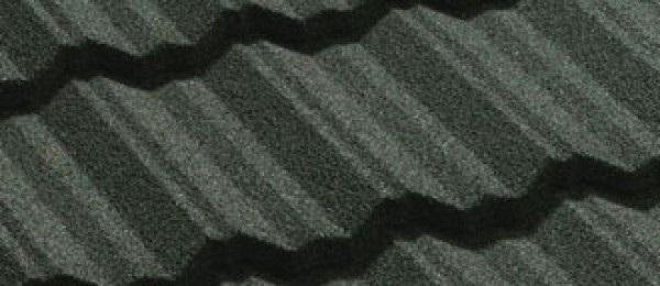 металлочерепица с присыпкой фото