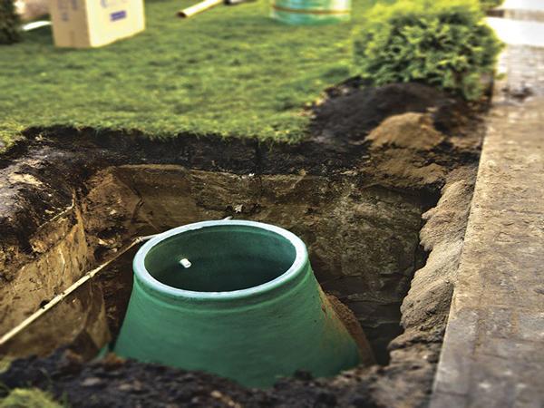 монтаж напорной канализации